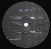 Lion Warriah - We Are Rebels / Rebels Dub / Madplate Sound - We Are Rebels Remix (4weed) 12""